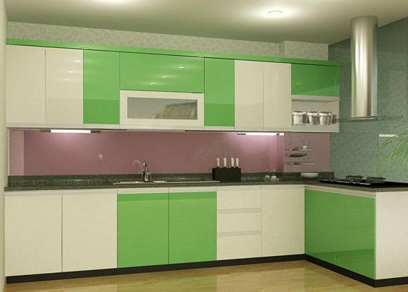 090621baoxaydung 2 1422271813 Màu sơn phòng bếp đem lại sự sung túc