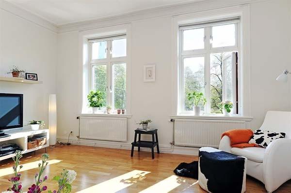 Обрамление окна в интерьере 5